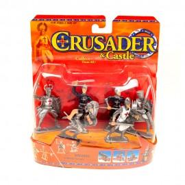 Набор солдатиков Крестоносцы 6 см 6 шт
