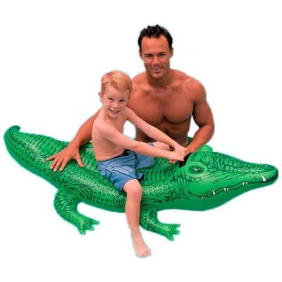 Крокодил надувной 168х86 см