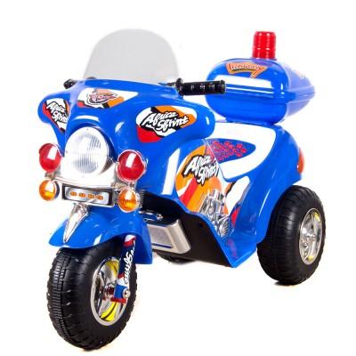 Мотоцикл для катания синий 60х100х45 см