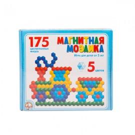 Мозаика магнитная 175 фишек