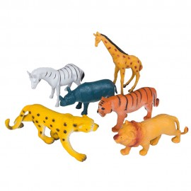Набор животных Сафари 6 шт