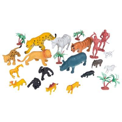 Набор Сафари, животные и люди