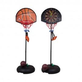 Кольцо баскетбольное - Дартс на стойке 153-175 см
