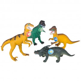 Набор Динозавров 4шт 24х10х13 см