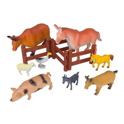 Набор животных Ферма 12 шт 11х15х4 см