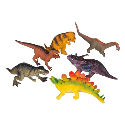 Набор динозавров 6шт 10х21х9 см