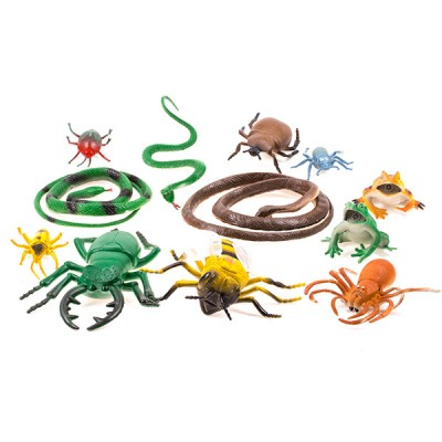 Набор насекомых 9 шт