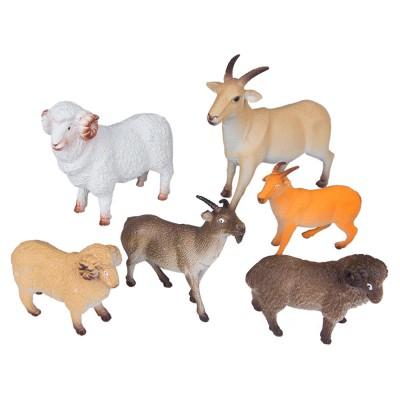 Набор животных Козы и бараны 6 шт