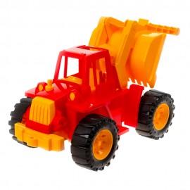 Трактор Ангара с грейдером