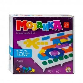Детская мозаика пластмассовая, 150 элементов