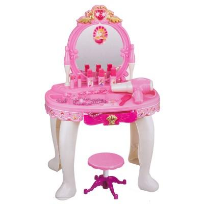 Туалетный столик со стульчиком 72х45 см