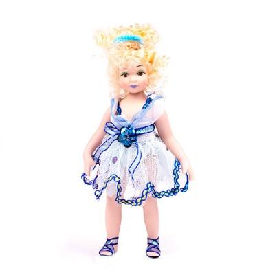 Кукла фарфоровая 18 см