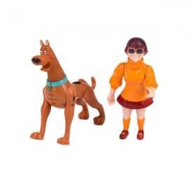 Кукла с собакой 12х5 см
