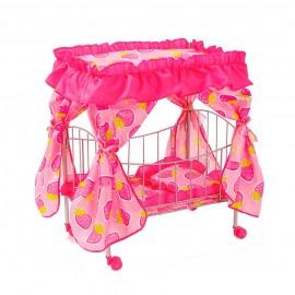 Кроватка для кукол 63х32х76 см
