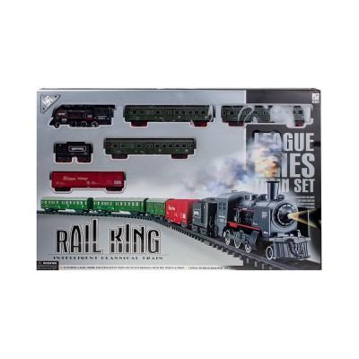 Железная дорога (свет,дым)