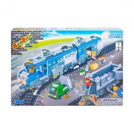 Конструктор поезд 1275 деталей