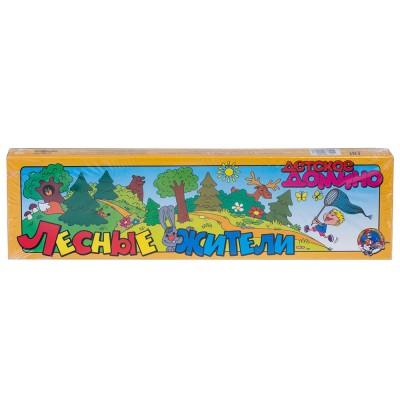 Домино Лесные жители 28 карточек