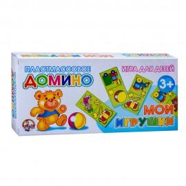Домино пластмассовое «Мои игрушки»