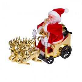 Санта Клаус на батарейках 25х20х11 см