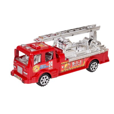 Машина пожарная 24х7 см