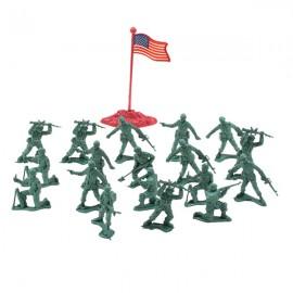 Набор солдатиков 20 деталей