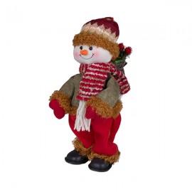 Санта Клаус/Снеговик на батарейках 37см