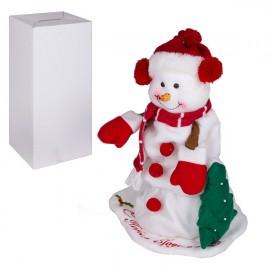 Снеговик на батарейках 35 см