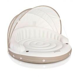 Кровать-шезлонг надувной 197х148 см