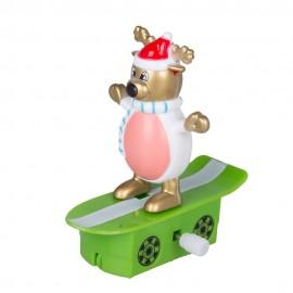 Заводная игрушка На скейте 8х4х6 см