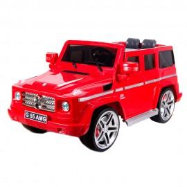 Машина радиоуправляемая для катания детей 60х120х60 см Красная