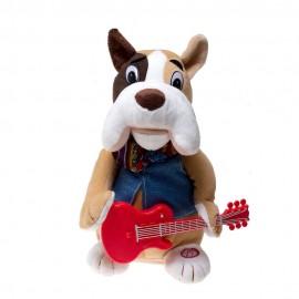 Мягкая музыкальная игрушка Собака с русской озвучкой, 27см