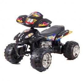 Квадроцикл для катания черный 70х110х70 см