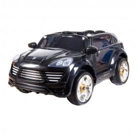 Машина радиоуправляемая для катания детей 60х120х65 см Черная