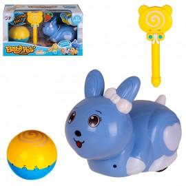 Зайчик с волшебным леденцом и мячом