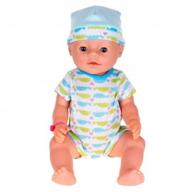 Кукла-пупс интерактивная с набором 40 см