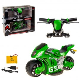 Мотоцикл на радиоуправлении 1:8  Пульт руль