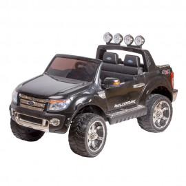 Машина радиоуправляемая для катания детей черная 134х81х77 см