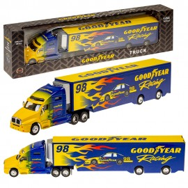 Металлический грузовик 1:64