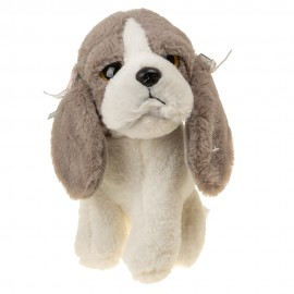 Собака Бассет 22 см