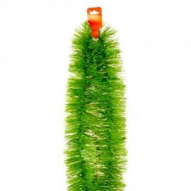 Мишура зеленая 250х9 см