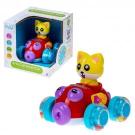 Развивающая игрушка Лисенок на батарейках (свет,звук)