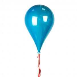 Новогоднее украшение Шар в форме голубой Капли 33 см