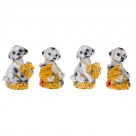 Статуэтка Далматинец с деньгами 9 см