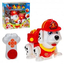 Собачка Пожарный с набором на инфракрасном управлении