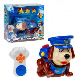 Собачка Полицейский с набором на инфракрасном управлении