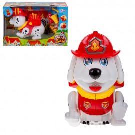 Собачка Пожарный с набором