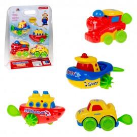 Набор игрушек Транспорт 4 шт