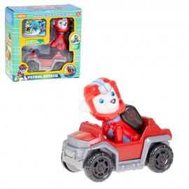 Супергерой с машинкой