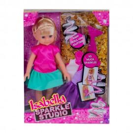 Кукла с набором аксессуаров 25 см