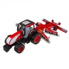 Машина инерционная Трактор с лущильником